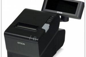 Un terminal de paiement pour TPE/PME du commerce sign� Sage et Epson