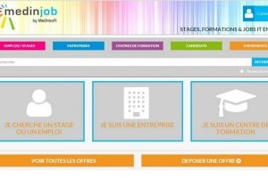 Medinjob, un portail d�di� � l'emploi et � la formation IT en PACA