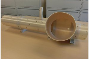 Le syst�me de conditionnement d'air de la fus�e Atlas V imprim� en 3D