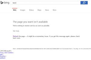 Bing momentan�ment indisponible