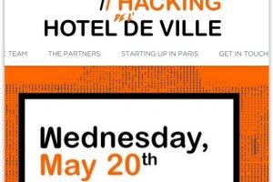 200 start-ups r�unies � l'H�tel de Ville de Paris le 20 mai