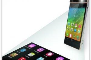 Lenovo d�voile un smartphone � projection laser