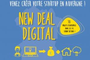 New Deal Digital incube 9 start-ups en Auvergne
