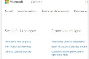 Microsoft lance un tableau de bord pour piloter ses donn�es priv�es