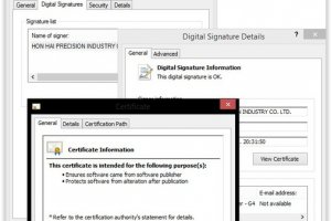 Duqu 2.0 : Les pirates ont utilis� un certificat vol� � Foxconn