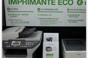 Top Office �tend son business des imprimantes recycl�es