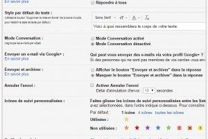 La fonction d'annulation d'envoi de mail disponible dans Gmail