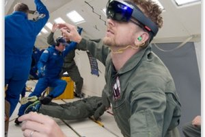 Le casque VR HoloLens de Microsoft bient�t utilis� par des astronautes