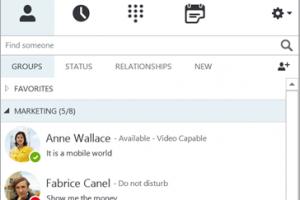 Skype for Business s'ouvre aux conf�rences groupe et au PBX cloud