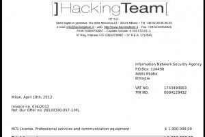 Le vendeur d'outils de piratage Hacking Team pirat�