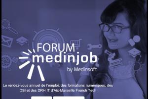 Forums Medinjob : 300 emplois propos�s en IT et digital � Aix-Marseille