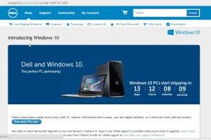 Windows 10 le 29 juillet mais pas pour tous les constructeurs de PC