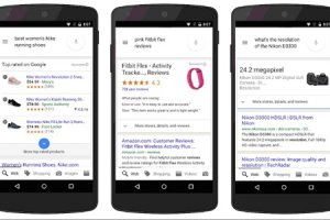 Google passe � l'�tape m-commerce
