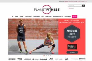 Pour pousser les achats, Planet Fitness a renforc� ses outils d'e-commerce