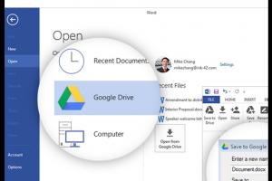 Les documents Office peuvent maintenant s'ouvrir dans Google Drive