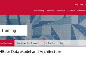 MapR ajoute un module sur HBase � sa formation Hadoop