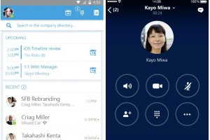 Skype for Business pour iOS et Android : b�tas imminentes