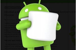 Google livre le SDK d'Android M, baptis� Marshmallow