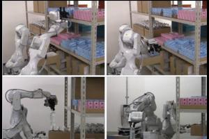 Hitachi con�oit un robot magasinier � deux bras