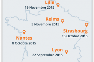 IT Tour 2015 : Venez participer au tour de France LMI en r�gions