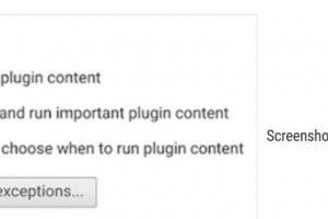 Google va bloquer la lecture des fichiers Flash