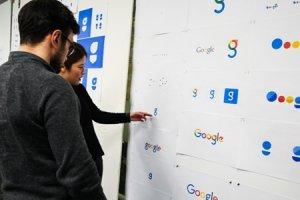Un logo l�g�rement modifi� chez Google