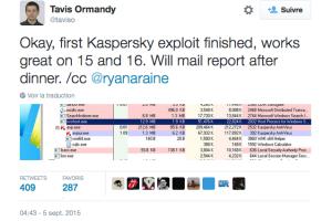 Kaspersky corrige en urgence une faille critique