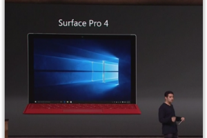 Microsoft d�voile la Surface Pro 4, disponible le 26 octobre