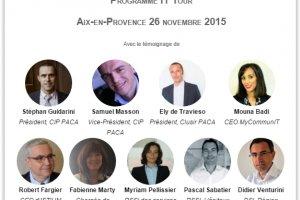 IT Tour Aix-en-Provence : Venez �changer avec les DSI et RSSI de la r�gion PACA