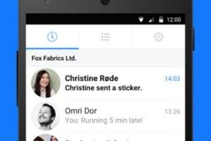 Facebook teste son app Work Chat dans les entreprises