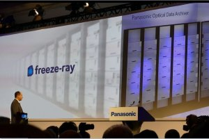 Panasonic mise sur le stockage Blu-ray de Facebook
