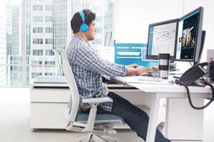 Strat�gie payante pour Microsoft sur le march� EMEA des communications unifi�es