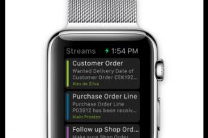 IFS ouvre son flux de notifications m�tiers � l'Apple Watch