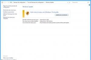 La strat�gie de mise � jour au forceps de Windows 10 finit par payer