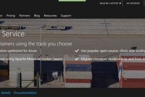 Microsoft lance Azure Container Service, sans Kubernetes