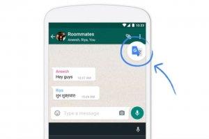 Translate traduit du texte depuis n'importe quelle app Android