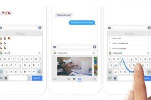 Google lance Gboard, un clavier enrichi pour iOS