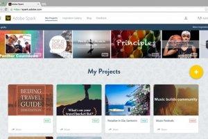 Avec Spark, Adobe facilite la cr�ation d'animations pour le web