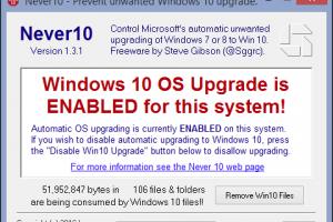 5 astuces pour bloquer la mise � jour forc�e de Windows 10