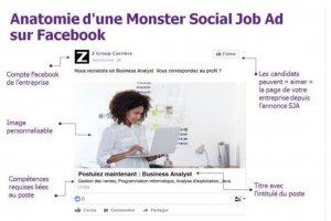 Monster aide les recruteurs � cibler les candidats sur Facebook