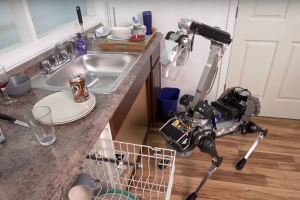 SpotMini, le robot domestique qui range la vaisselle