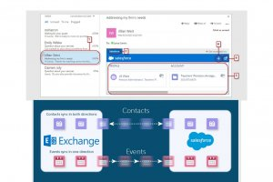 Salesforce s'int�gre � la bo�te mail avec Lightning for Outlook