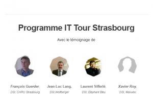 IT Tour Strasbourg : Venez rencontrer les DSI et RSSI le 29 septembre