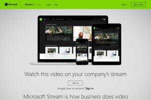 Microsoft lance Stream, un�YouTube pour l'entreprise