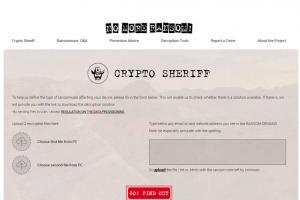Nomoreransom.org aide � contrer les ransomwares
