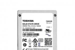 Toshiba monte � 7,68 To ses SSD pour datacenters