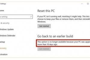 Windows 10 Update : 10 jours seulement pour changer d'avis