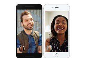 Google lance Duo, son app d'appel vid�o pour mobile