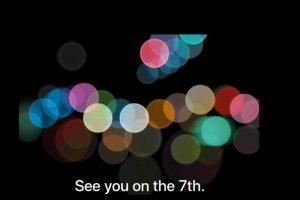 L'iPhone 7 annonc� le 7 septembre