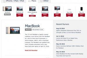 Les prochains Mac d�voil�s en octobre